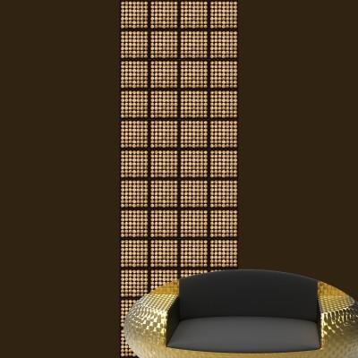 Gold Wood Panel