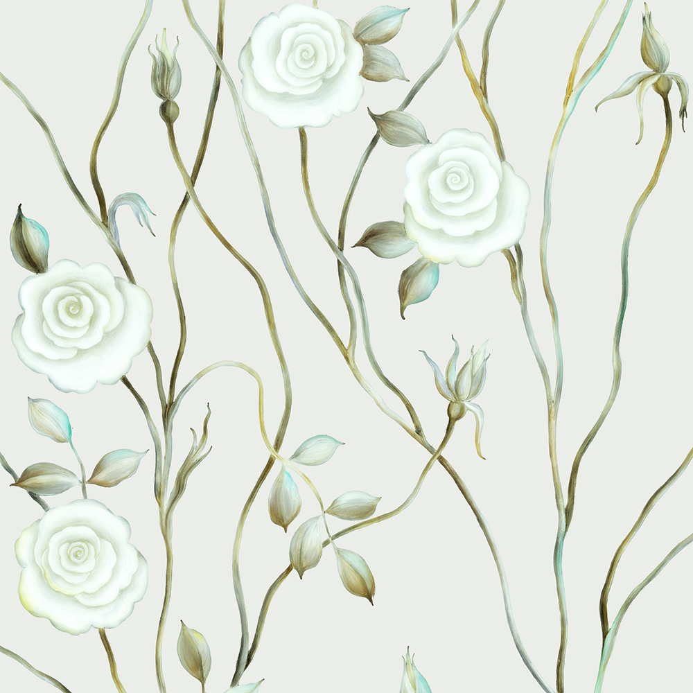 3. Dreamy Rose Tree Mural. | SVETLANA SHELLSHEAR