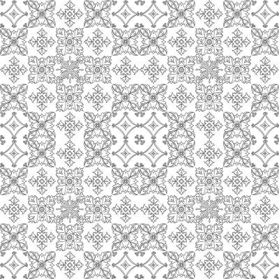 White Tiles On White